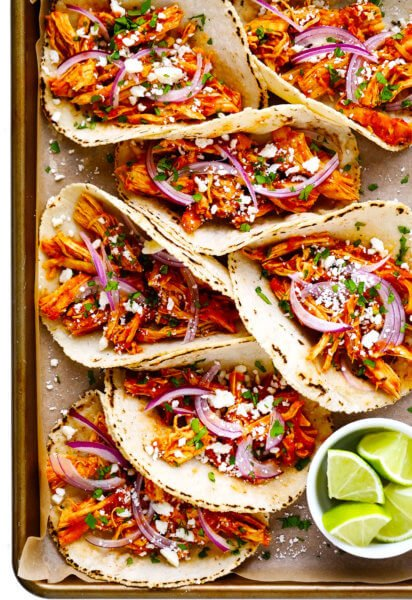 Chicken Tinga Tacos Recipe