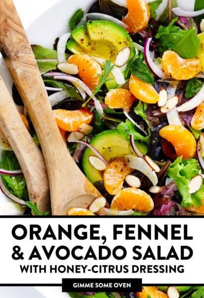 Orange Fennel and Avocado Salad