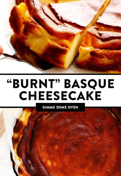 """Burnt"" Basque Cheesecake"
