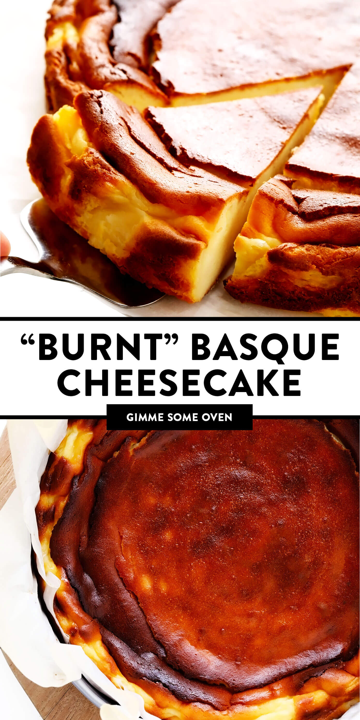 """Burnt"" Basque Cheesecake"