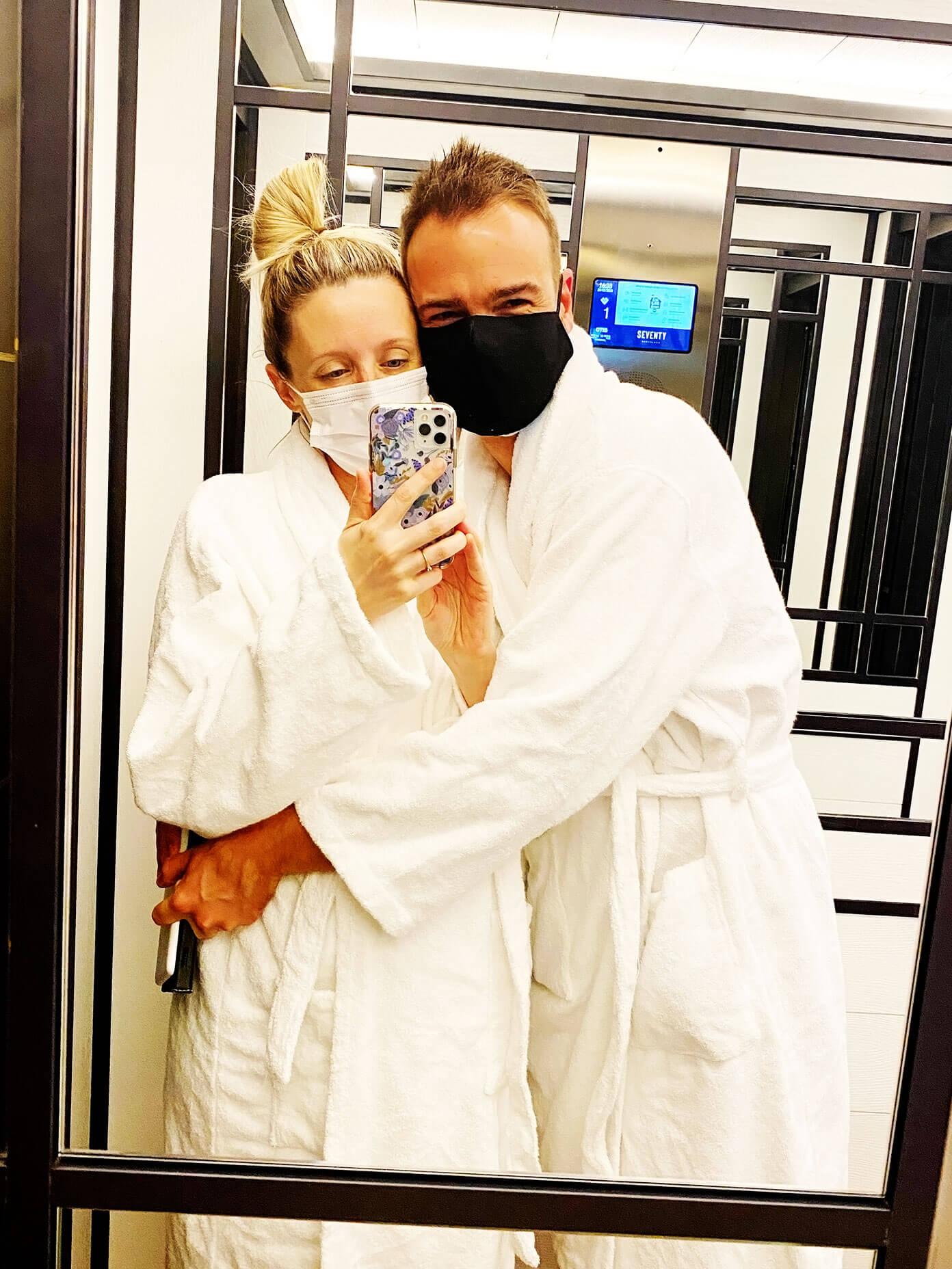 Ali and Barclay Martin | Babymoon at Seventy Hotel in Barcelona