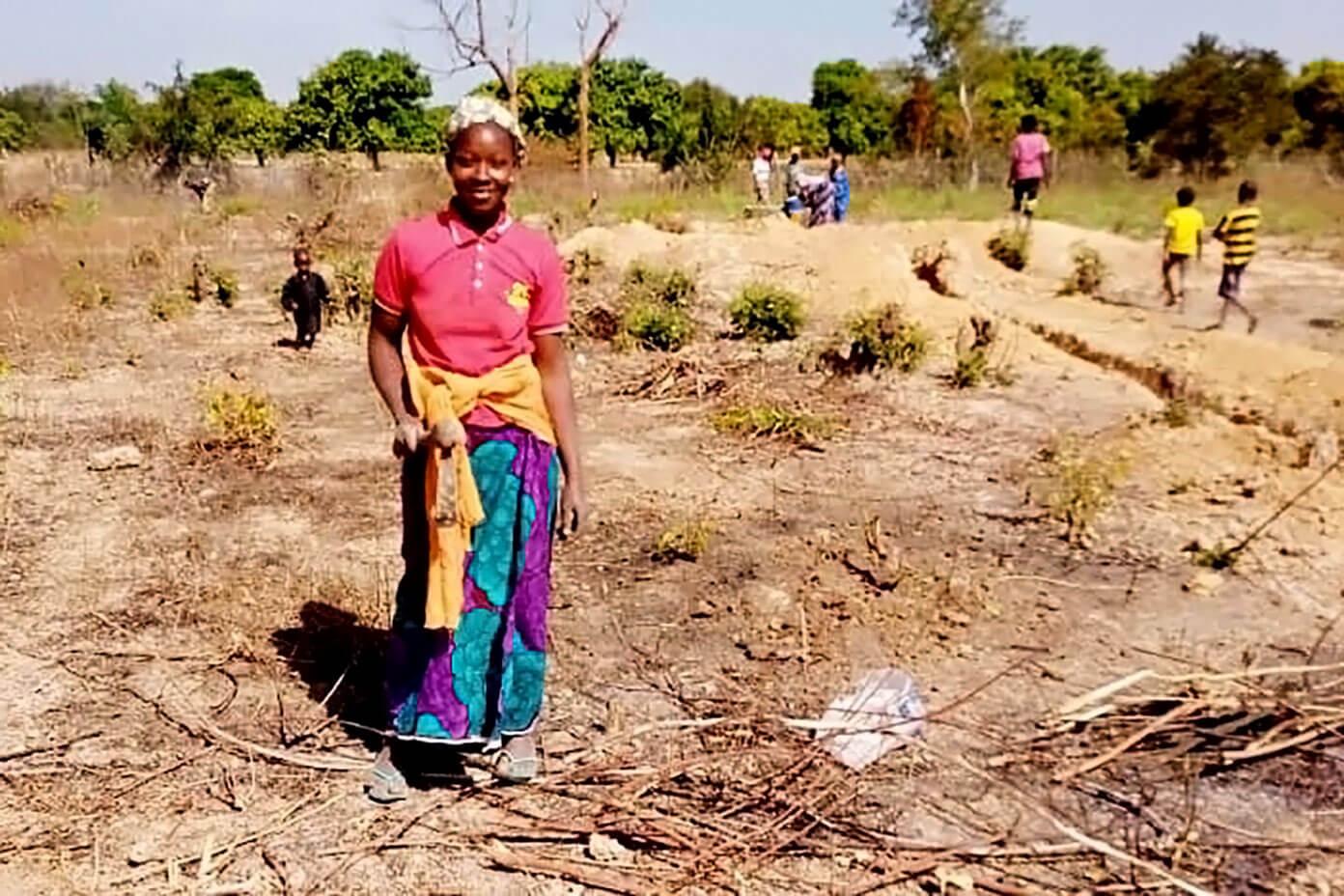 The Wash Project Benkadi Community Garden in Mali