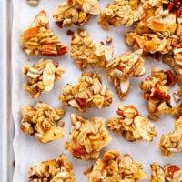 Easy Granola Clusters in Sheet Pan