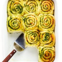 Cheesy Pesto Rolls