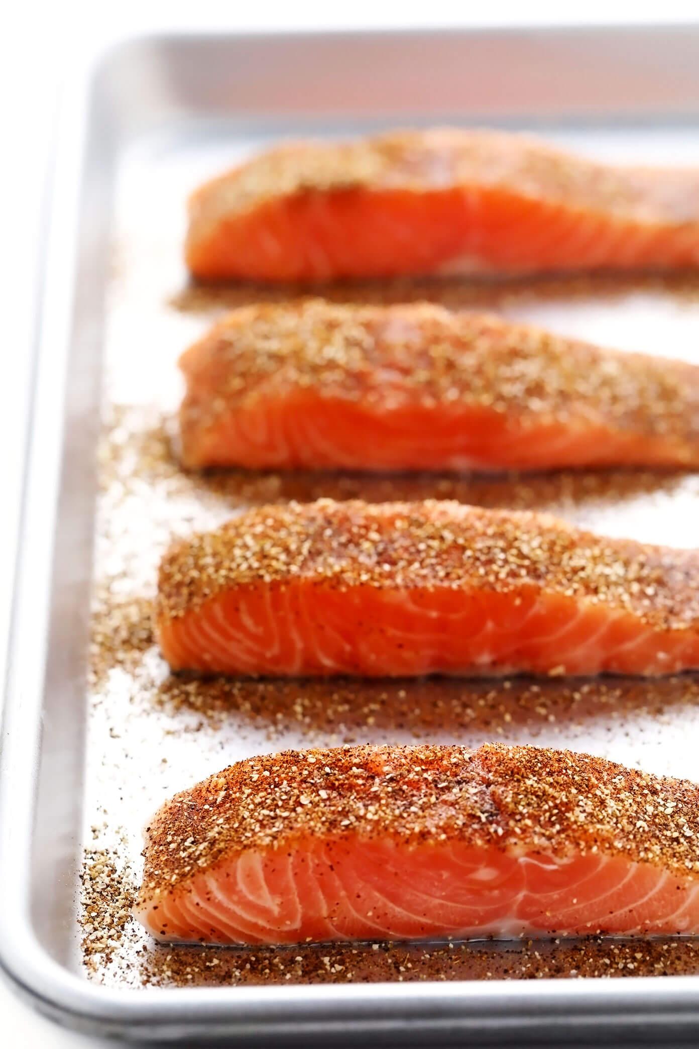 Chili Lime Salmon Filets