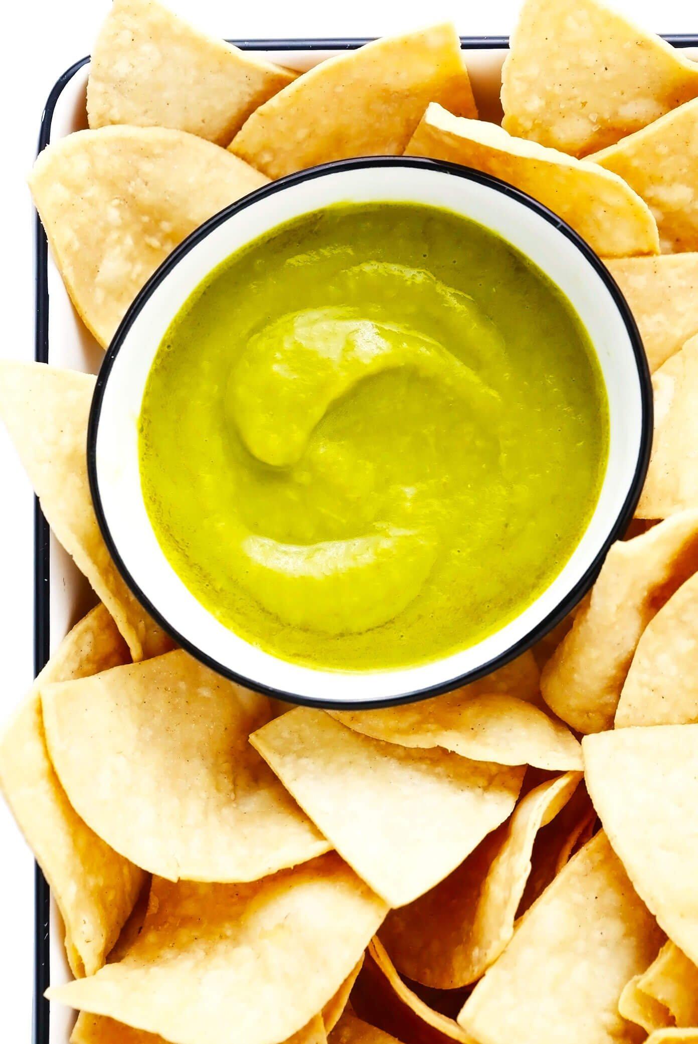 Copycat Salsa Doña Recipe with Tortilla Chips