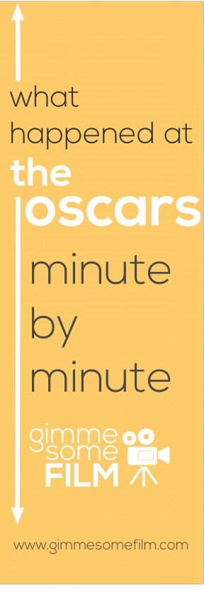 Live Blogging the Oscars