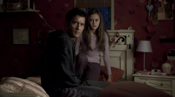 Clive Owen and Ella Purnell in Intruders