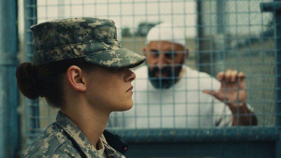 Kristen Stewart in Peter Sattler's Camp X-Ray. Photo by Beth Dubber.