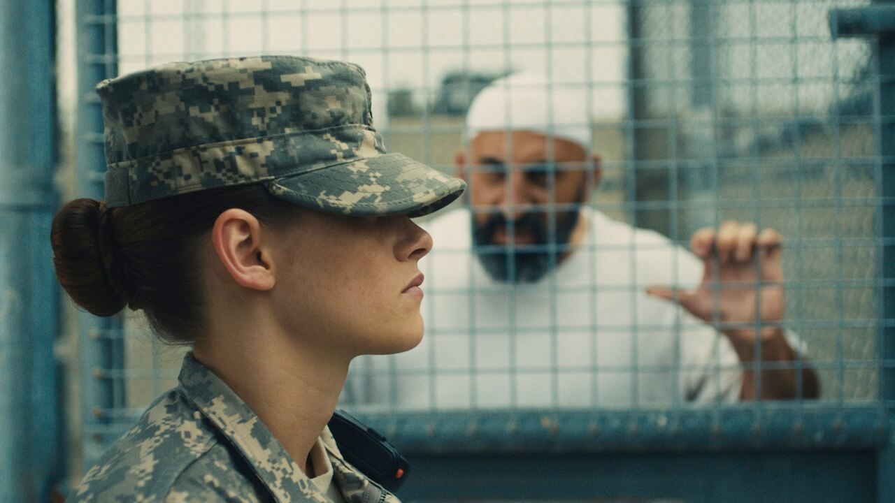 Kristen Stewart in Peter Sattler's Camp X-Ray. Photo by Beth Dubber.