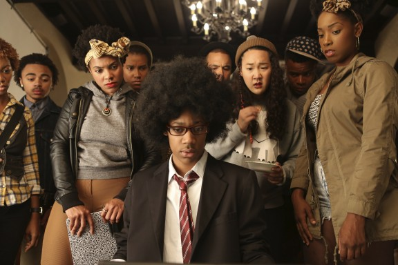 Justin Simien's Dear White People.