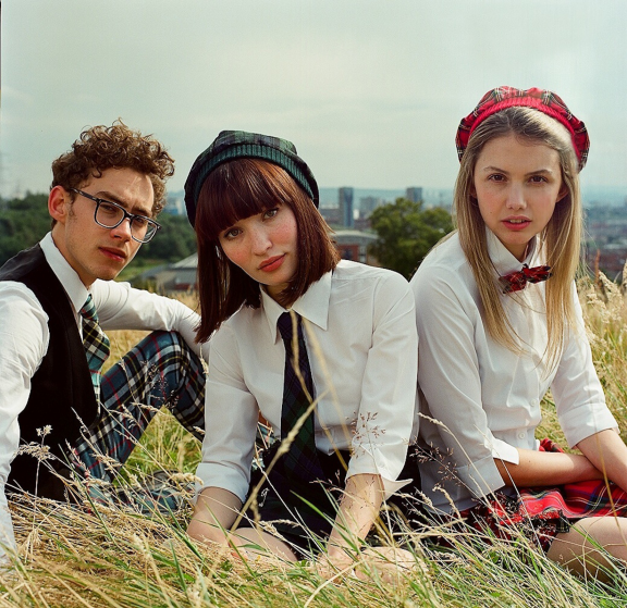 Olly Alexander, Emily Browning and Hannah Murray in Stuart Murdoch's God Help the Girl. Photo by Neil Davidson.