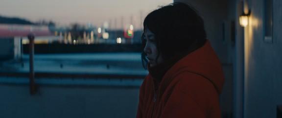Rinko Kikuchi in David Zellner's Kumiko, the Treature Hunter. Photo by Sean Porter.