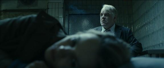 Rachel McAdams and Philip Seymour Hoffman in Anton Corbijn's A Most Wanted Man.