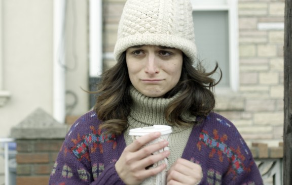 Jenny Slate in Gillian Robespierre's Obvious Child. Photo by Chris Teague.