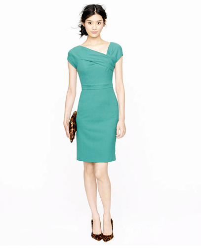 JCrew Origami Sheath Dress | gimmesomelife.com