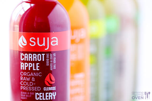 3-Day Suja Juice Cleanse | gimmesomelife.com
