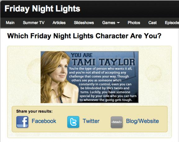 Friday Night Lights Trivia   gimmesomelife.com