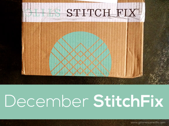 December Stitch Fix Review | gimmesomeoven.com