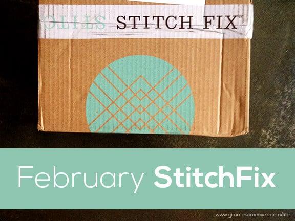 February Stitch Fix Review | gimmesomeoven.com/life