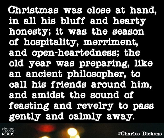 Wonderful Pickwick Christmas #quote | Gimmesomereads.com