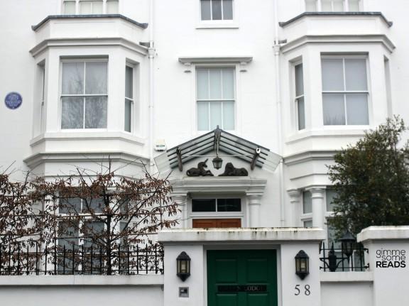 Home of Dame Agatha Christie: 58 Sheffield Terrace, Holland Park, W8 7NA | London 2013