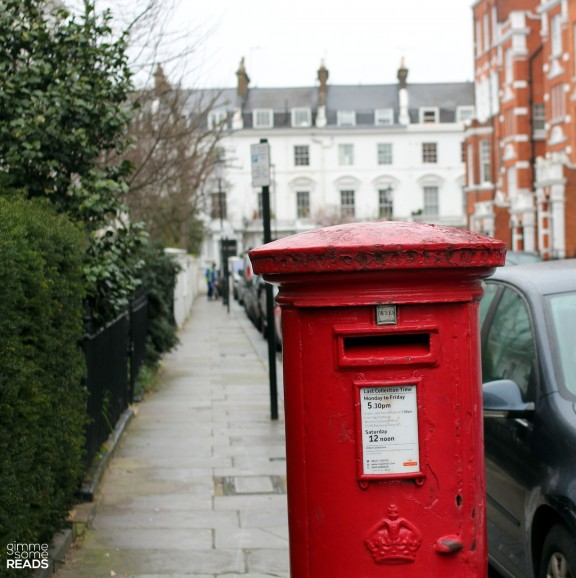 perhaps Agatha posted her mail here | London 2013