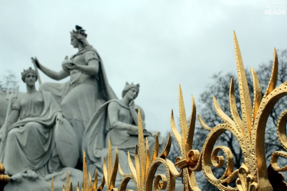a mere portion of The Albert Memorial, just a few blocks from where T.S. Eliot lived.   London 2012