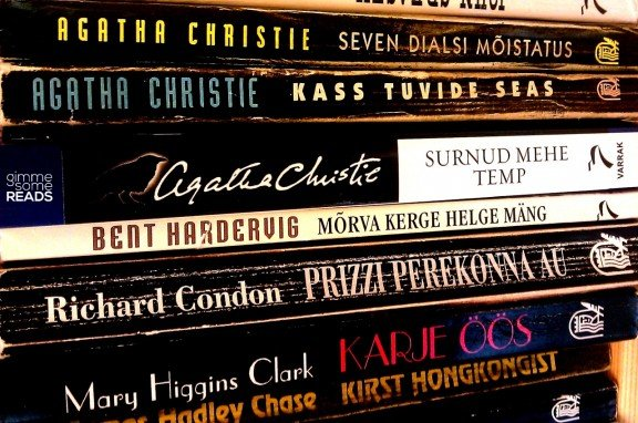 Agatha Christie novels at Raamatukoi | Tallinn, Estonia 2012