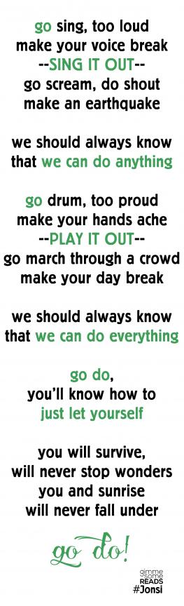 Go Do lyrics by Jónsi   gimmesomereads.com