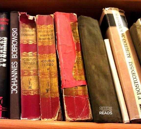Dostoyevsky books found in Raamatukoi Bookshop | Tallinn, Estonia 2012