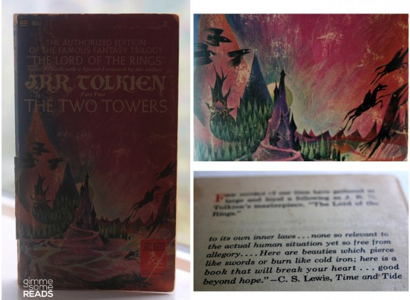 The Two Towers by Tolkien | Gimme Some Reads