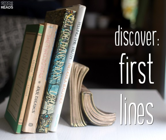 discover first lines #2 (V/U/T) | Gimme Some Reads