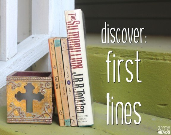 Discover First Lines #3 (S) | Gimme Some Reads