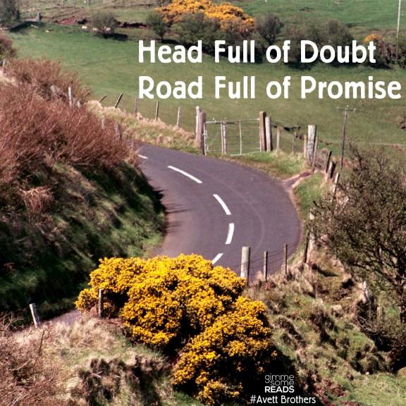 Head Full of Doubt Road Full of Promise   gimmesomereads.com #AvettBrothers