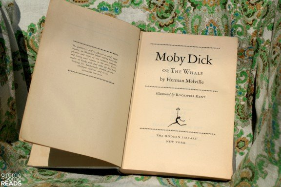 Moby Dick by Herman Melville   gimmesomereads.com