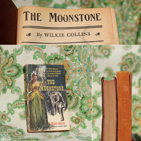 The Moonstone by Wilkie Collins   gimmesomereads.com