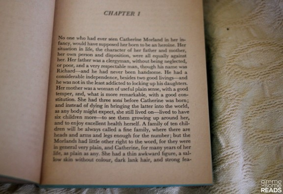 First Page of Northanger Abbey   gimmesomereads.com #JaneAusten