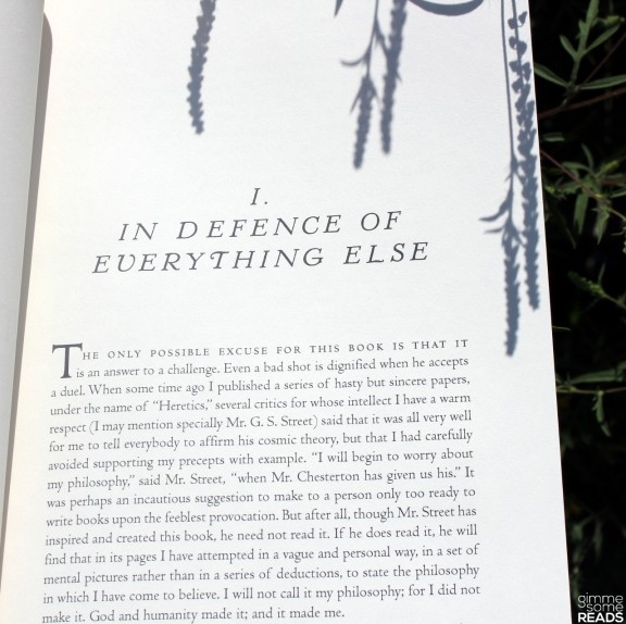First Page of Orthodoxy   gimmesomereads.com #GKChesterton