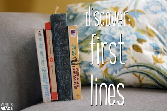 Discover First Lines #5 (Q/P)   gimmesomereads.com