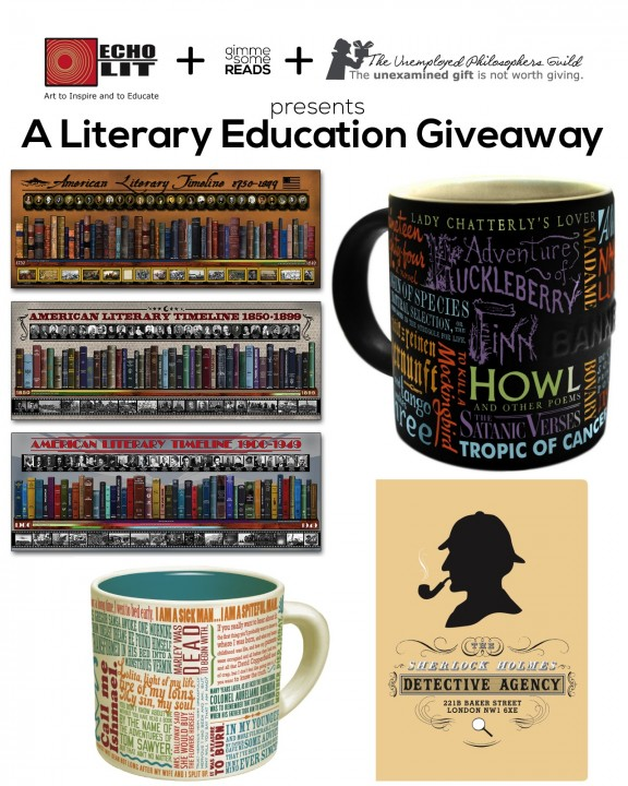 A Literary Education #Giveaway | gimmesomereads.com