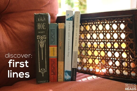 Discover: First Lines #12   gimmesomereads.com