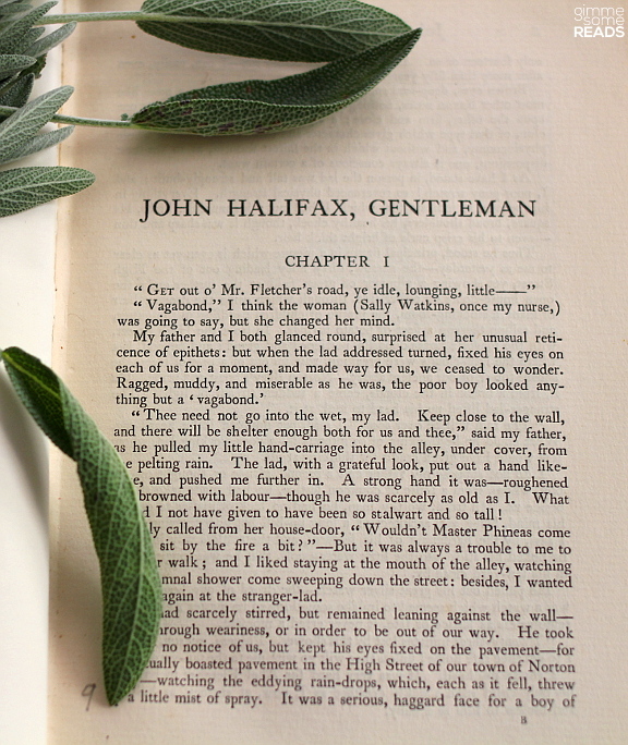 First page of John Halifax Gentleman by Dinah Maria Craik | © 1898 J.M. Dent & Co.
