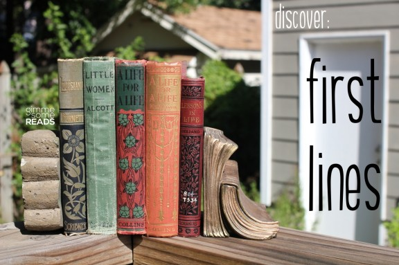Discover: First Lines #9 | gimmesomereads.com