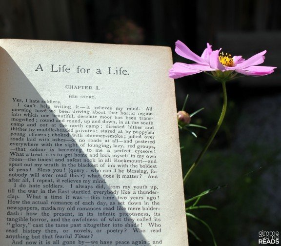 First Page of A Life for a Life by Dinah Maria Craik   gimmesomereads.com