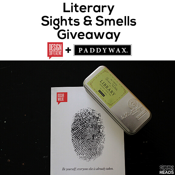 Literary Sights & Smells Giveaway | gimmesomereads.com