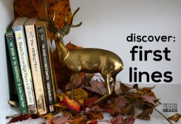 Discover: First Lines #13 {Gimme Some Oven}