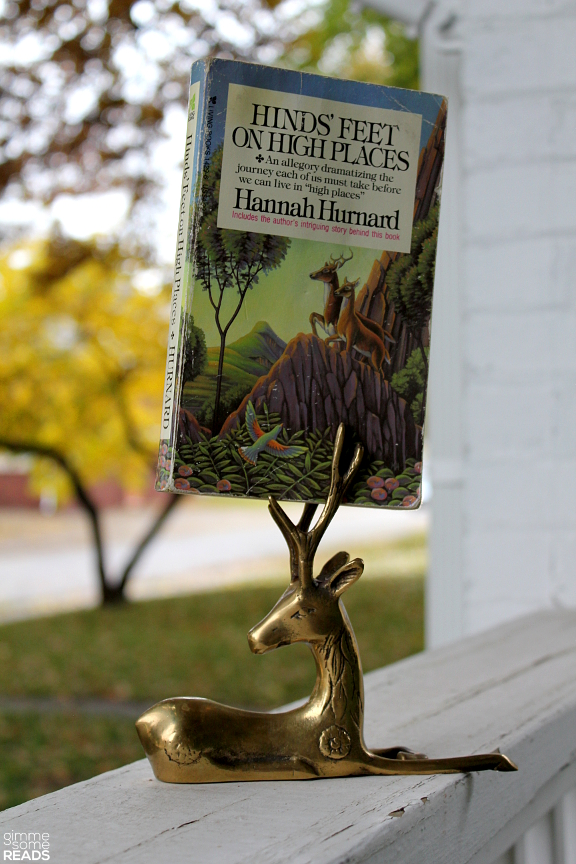 Hinds' Feet on High Places by Hannah Hurnard | gimmesomereads.com