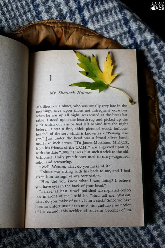 First page of The Hound of the Baskervilles by Sir Arthur Conan Doyle | gimmesomereads.com