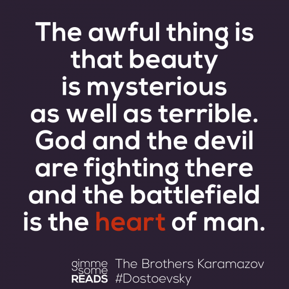 The battlefield #Dostoevsky | gimmesomereads.com #quote